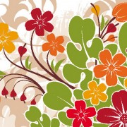 floral pattern016